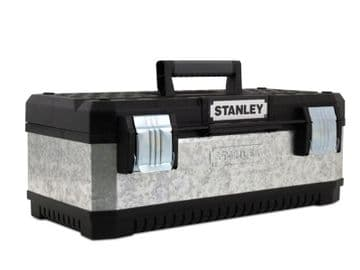 Galvanised Metal Toolbox 50cm (20in)
